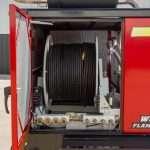 XE150 fluid hose reel