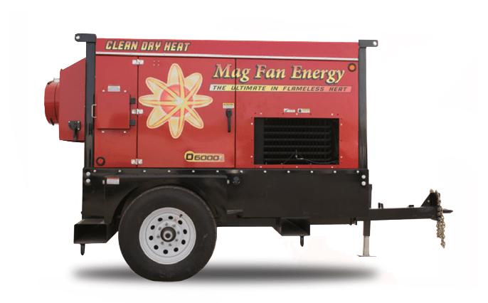 Mag Fan Heat D6000 Bakken Series Heater